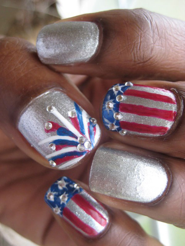 4th of july nail art designs supplies galleries for beginners 4th of july nail art designs supplies galleries prinsesfo Choice Image