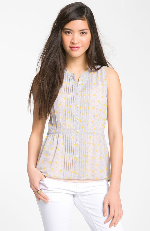 Simple & Stylish Sleeveless Shirts & Tops For Girls-4