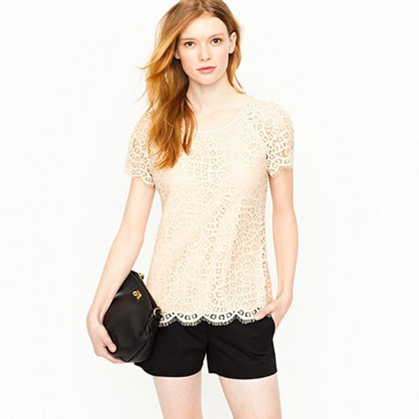 Simple Yet Stylish Lace Tops & Shirts For Girls-3