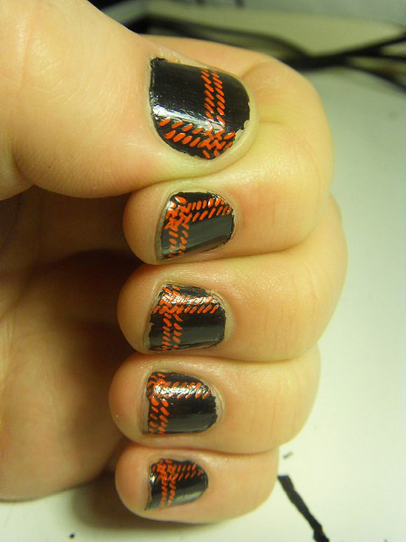 15-Best-Simple-Black-Nail-Art-Designs-Supplies-Galleries-For-Beginners-11