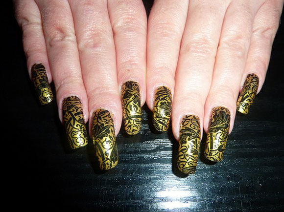 15-Best-Simple-Black-Nail-Art-Designs-Supplies-Galleries-For-Beginners-12