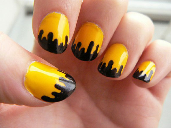 15-Best-Simple-Black-Nail-Art-Designs-Supplies-Galleries-For-Beginners-3
