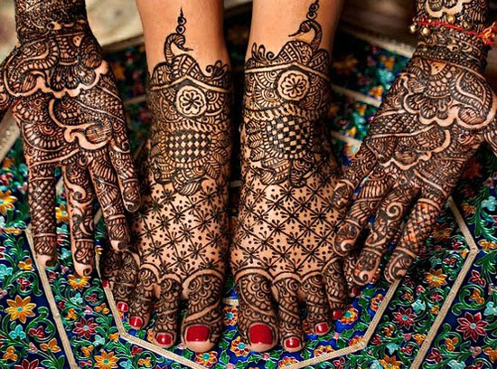 Indian Bridal Henna Designs: 15 + Simple & Best Traditional Indian Mehndi Designs