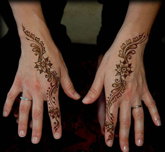 Simple Henna Tattoo Designs For Wrist: 30 Easy & Simple Mehndi Designs & Henna Patterns 2012