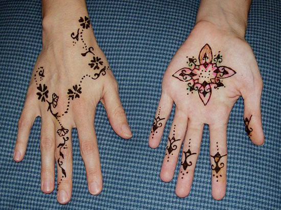 30 Easy & Simple Mehndi Designs & Henna Patterns 2012 | Henna Tattoo ...