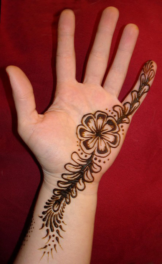 30 very simple easy best mehndi patterns for hands feet 2012 henna designs for beginners. Black Bedroom Furniture Sets. Home Design Ideas
