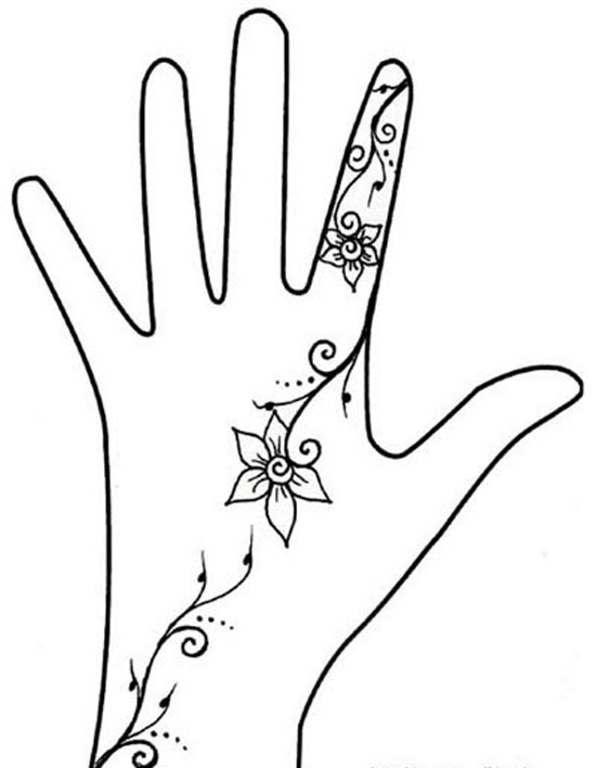 Simple easy best mehndi patterns for hands feet 2012 henna designs