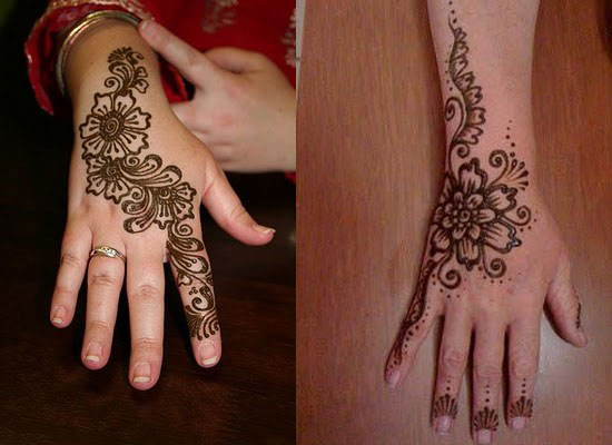 30 Very Simple Easy Best Mehndi Patterns For Hands Feet 2012 Henna Designs For Beginners 7 30 Very Simple, Easy & Best Mehndi Patterns For Hands & Feet 2012 | Henna Designs For Beginners