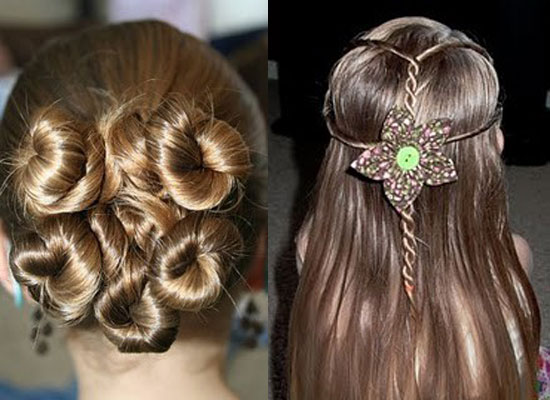 Easy Hairstyles For Long Hair To Do Yourself For Kids - HVGJ Wallpaper