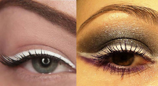 White Eyeliner Tumblr 20 Best White Eyeliner Styles