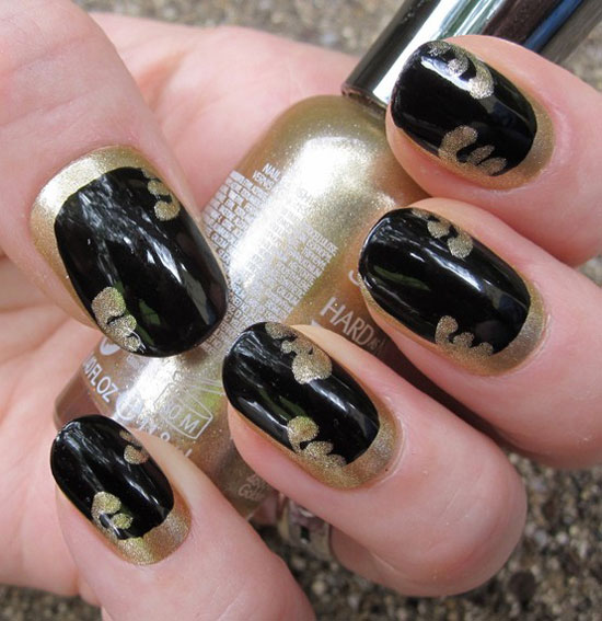 20-Easy-Simple-Black-Nail-Art-Designs-Supplies-Galleries-For-Beginners-1