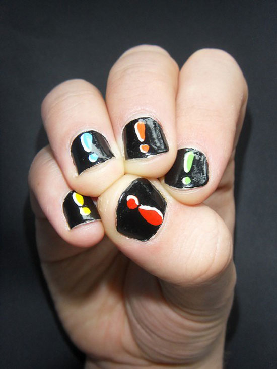 20-Easy-Simple-Black-Nail-Art-Designs-Supplies-Galleries-For-Beginners-11