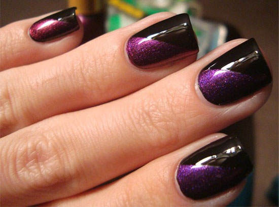 20-Easy-Simple-Black-Nail-Art-Designs-Supplies-Galleries-For-Beginners-13