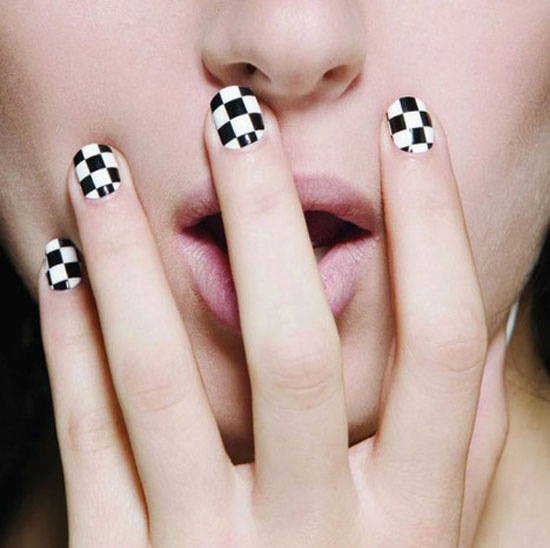 20 Easy & Simple Black Nail Art Designs, Supplies ...