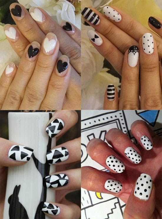 20-Easy-Simple-Black-Nail-Art-Designs-Supplies-Galleries-For-Beginners-20