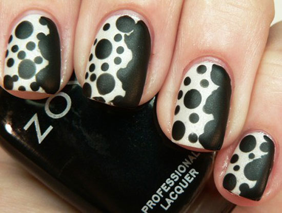 20-Easy-Simple-Black-Nail-Art-Designs-Supplies-Galleries-For-Beginners-7