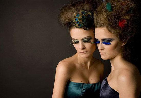 20 Peacock Feather Inspired Eye Make Up Designs Ideas Looks 13 20 + Peacock Feather Inspired Eye Make Up Designs, Ideas & Looks