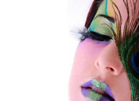 20 Peacock Feather Inspired Eye Make Up Designs Ideas Looks 14 20 + Peacock Feather Inspired Eye Make Up Designs, Ideas & Looks