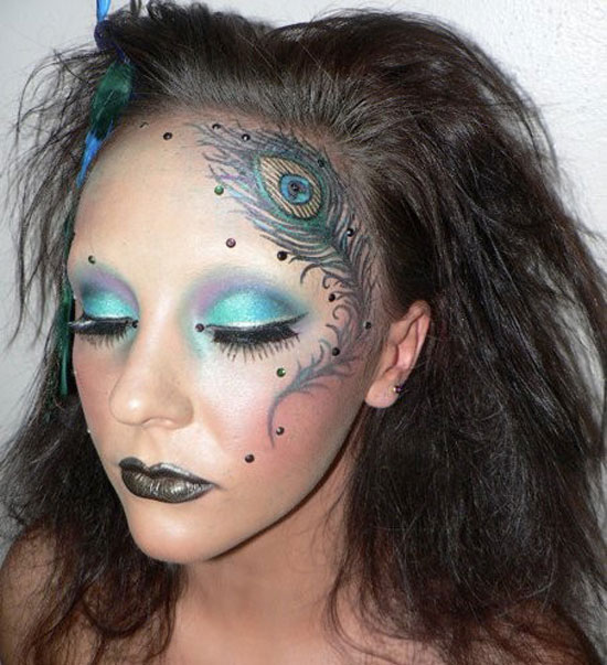 20-Peacock-Feather-Inspired-Eye-Make-Up-Designs-Ideas-Looks-7