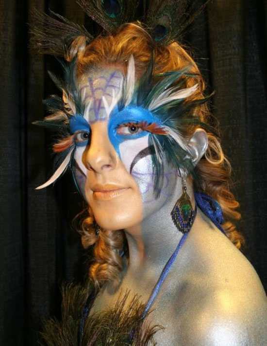 20 Peacock Feather Inspired Eye Make Up Designs Ideas Looks 9 20 + Peacock Feather Inspired Eye Make Up Designs, Ideas & Looks