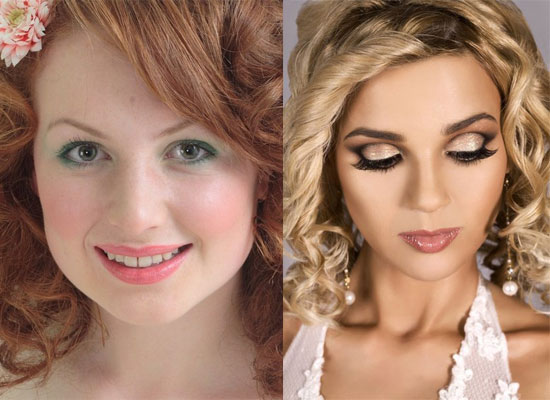20 Pictures Showing Wedding Prom Make Up Styles Looks Ideas Of 2012 20 20 Pictures Showing Wedding Make Up Styles, Looks & Ideas Of 2012
