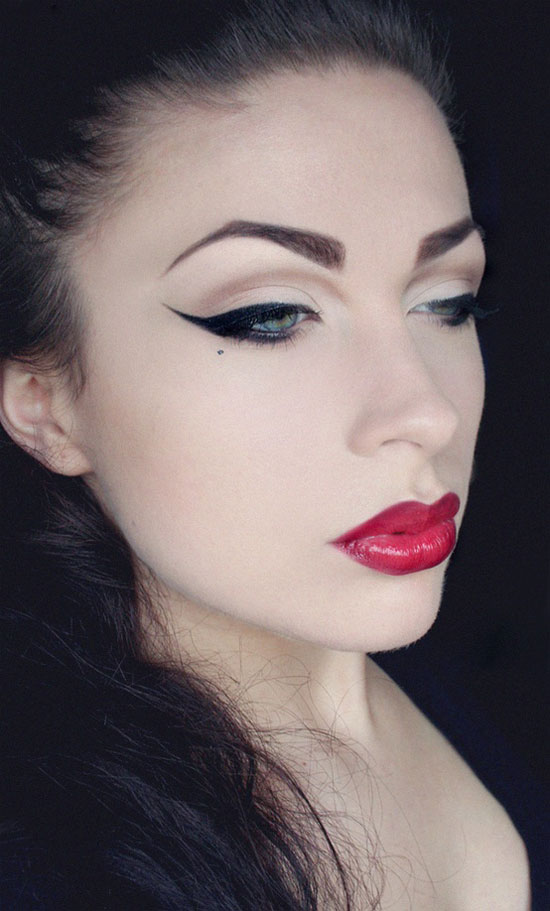 25-Best-Black-Perfect-Eye-liner-Styles-Designs-Looks-Ideas-19