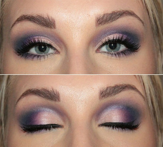 25 Best Blue Smokey Eye Make Up Ideas Amp Looks Of 2012