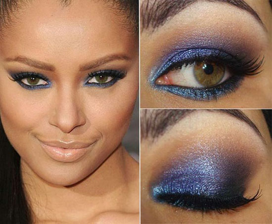 25 + Best Blue Smokey Eye make Up Ideas & Looks Of 2012 | Girlshue
