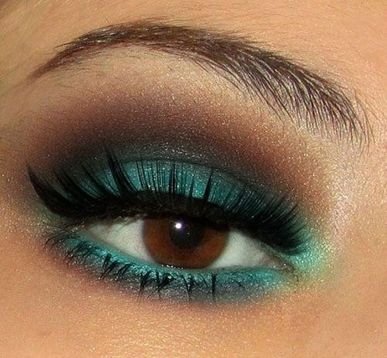25 Best Green Smokey Eye Make Up Ideas Looks Pictures 12 25 Best Green Smokey Eye Make Up Ideas, Looks & Pictures