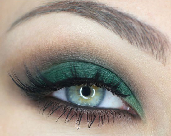 25 Best Green Smokey Eye Make Up Ideas Looks Pictures 13 25 Best Green Smokey Eye Make Up Ideas, Looks & Pictures