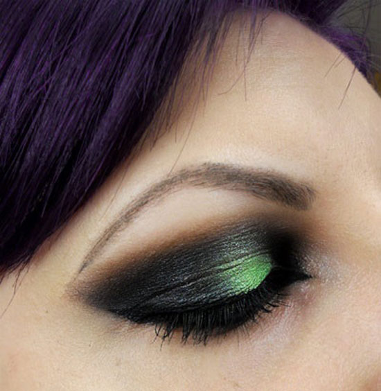25 Best Green Smokey Eye Make Up Ideas Looks Pictures 16 25 Best Green Smokey Eye Make Up Ideas, Looks & Pictures