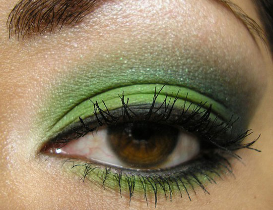 25 Best Green Smokey Eye Make Up Ideas Looks Pictures 18 25 Best Green Smokey Eye Make Up Ideas, Looks & Pictures