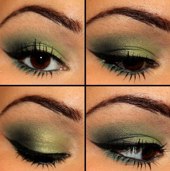 25 Best Green Smokey Eye Make Up Ideas Looks Pictures 2 25 Best Green Smokey Eye Make Up Ideas, Looks & Pictures