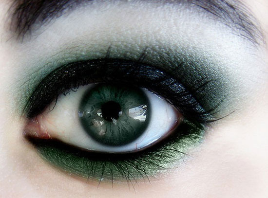25 Best Green Smokey Eye Make Up Ideas Looks Pictures 22 25 Best Green Smokey Eye Make Up Ideas, Looks & Pictures