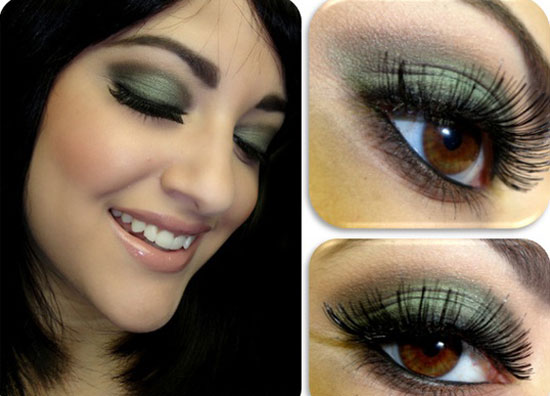25 Best Green Smokey Eye Make Up Ideas Looks Pictures 3 25 Best Green Smokey Eye Make Up Ideas, Looks & Pictures
