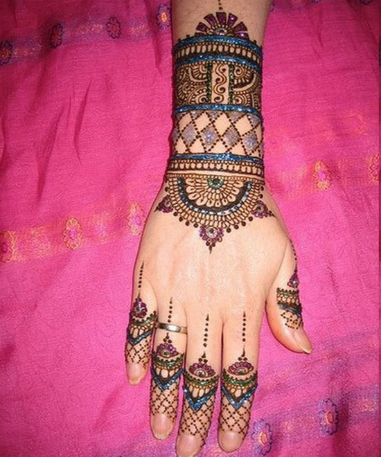 40 Best Eid Mehndi Designs Henna Patterns For Full Hands Feet 2012 18 40 Best Eid Mehndi Designs & Henna Patterns For Full Hands & Feet 2012