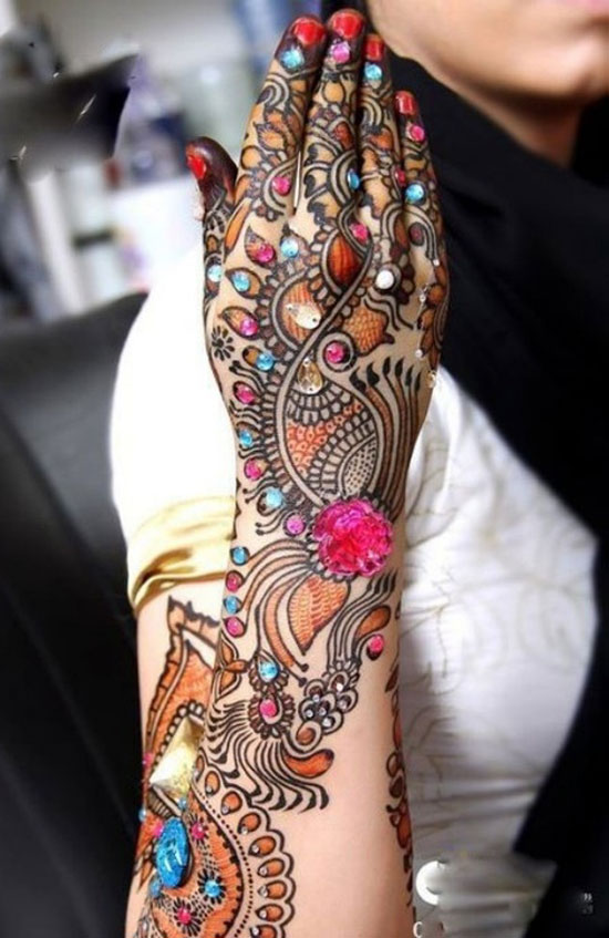 40 Best Eid Mehndi Designs Henna Patterns For Full Hands Feet 2012 20 40 Best Eid Mehndi Designs & Henna Patterns For Full Hands & Feet 2012
