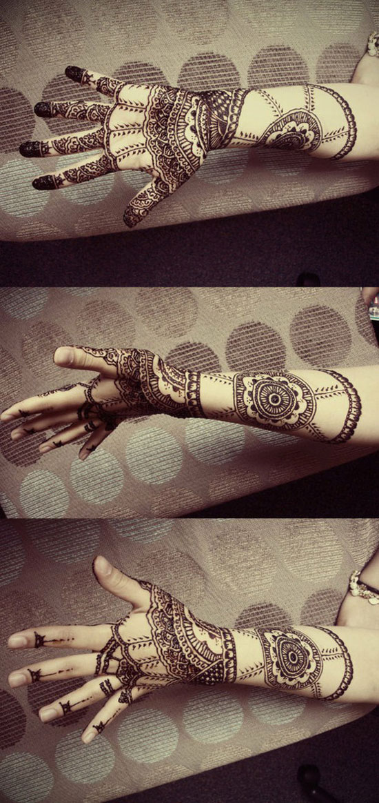 40 Best Eid Mehndi Designs Henna Patterns For Full Hands Feet 2012 22 40 Best Eid Mehndi Designs & Henna Patterns For Full Hands & Feet 2012