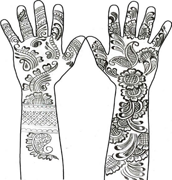 40 Best Eid Mehndi Designs Henna Patterns For Full Hands Feet 2012 35 40 Best Eid Mehndi Designs & Henna Patterns For Full Hands & Feet 2012