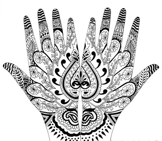 40 Best Eid Mehndi Designs Henna Patterns For Full Hands Feet 2012 37 40 Best Eid Mehndi Designs & Henna Patterns For Full Hands & Feet 2012