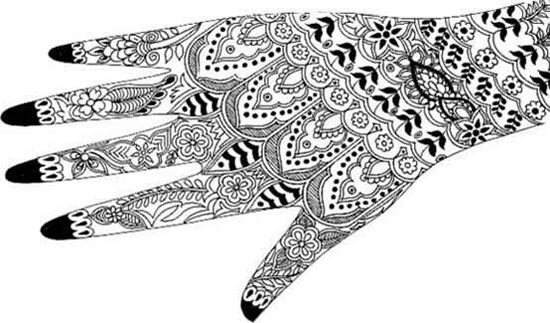 40 Best Eid Mehndi Designs Henna Patterns For Full Hands Feet 2012 38 40 Best Eid Mehndi Designs & Henna Patterns For Full Hands & Feet 2012