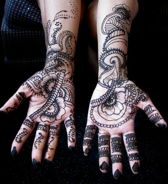 40 Best Eid Mehndi Designs Henna Patterns For Full Hands Feet 2012 4 40 Best Eid Mehndi Designs & Henna Patterns For Full Hands & Feet 2012