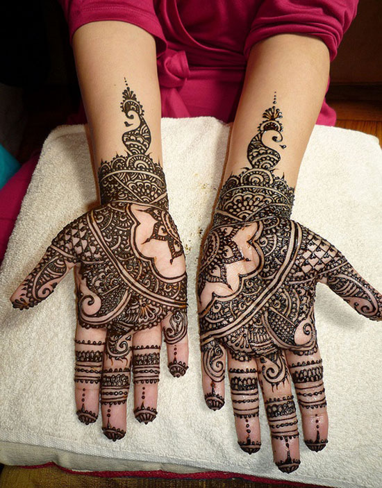 40 Best Eid Mehndi Designs Henna Patterns For Full Hands Feet 2012 5 40 Best Eid Mehndi Designs & Henna Patterns For Full Hands & Feet 2012