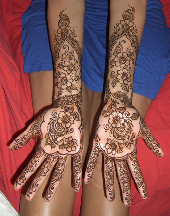 40 Best Eid Mehndi Designs Henna Patterns For Full Hands Feet 2012 7 40 Best Eid Mehndi Designs & Henna Patterns For Full Hands & Feet 2012