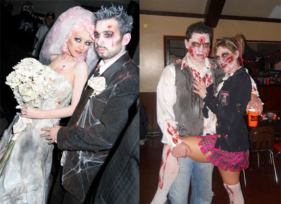 15 Scary Creative Yet Unique Halloween Costume Inspirational Ideas 2012 For Couples 12 15 Scary, Creative Yet Unique Halloween Costume Inspirational Ideas 2012 For Couples