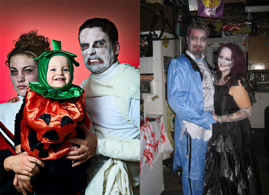 15 Scary Creative Yet Unique Halloween Costume Inspirational Ideas 2012 For Couples 13 15 Scary, Creative Yet Unique Halloween Costume Inspirational Ideas 2012 For Couples