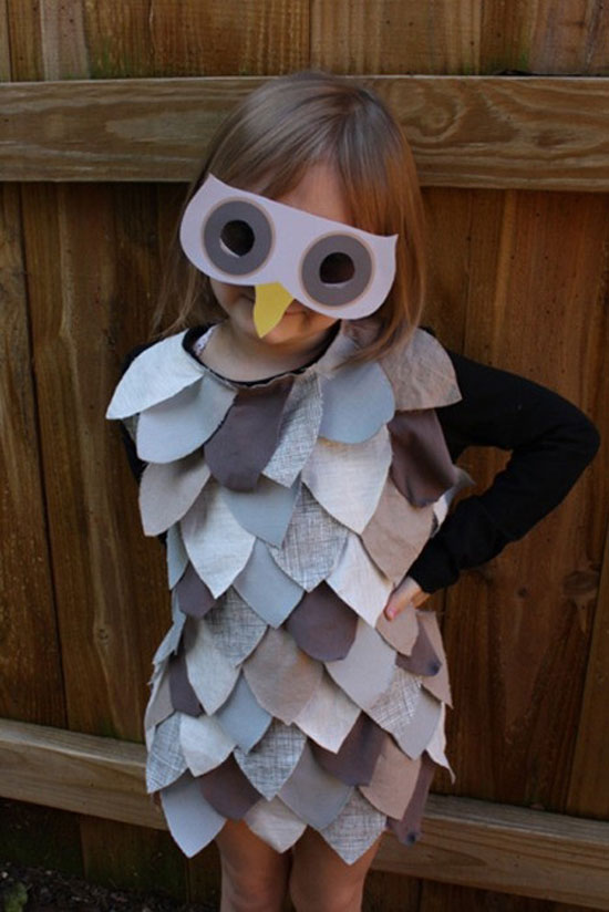 20 best creative yet cool halloween costume ideas 2012 for Easy homemade costume ideas for kids