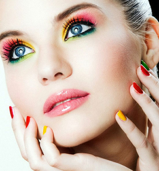 20 Best Summer Make Up Looks Ideas For Girls 2012 3 20 Best Summer Make Up Looks & Ideas For Girls 2012