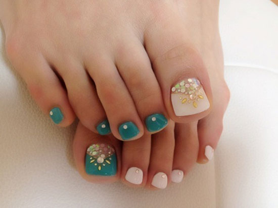 Cute Toe Nail Art Designs