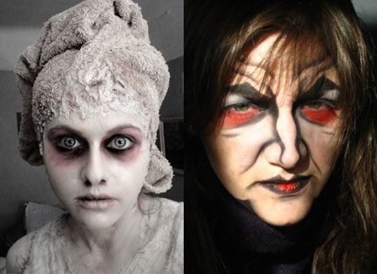 25 Best Crazy Scary Halloween Make Up Looks Ideas 2012 For Girls Women 23 25 Best, Crazy & Scary Halloween Make Up Looks & Ideas 2012 For Girls & Women